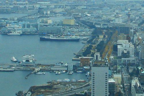 Parque Yamashita junto al Puerto de Yokohama