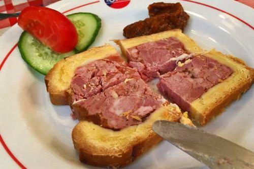 Pâté en croûte, una de las comidas típicas de París