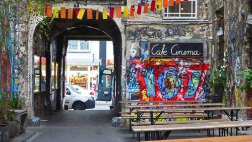 Patios de Berlín en el Barrio Judío