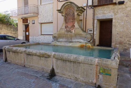 Pilón de la Plaza de Santiago en Turégano