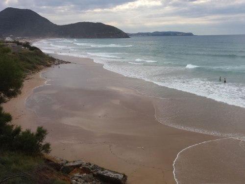 Playa de Berria, la más extensa de Santoña