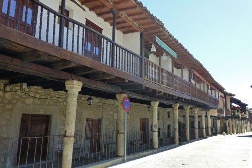 Plaza Mayor de Cuacos de Yuste