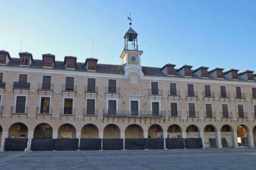 Plaza Mayor de Ocaña, la tercera de España
