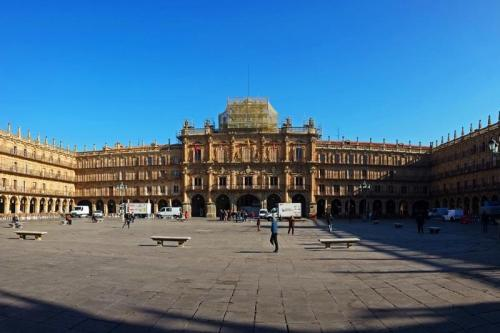 Plaza Mayor de Salamanca, el centro de la vida civil de la ciudad