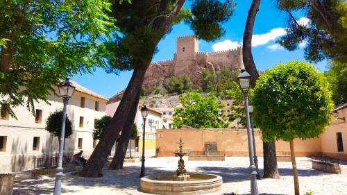 Plaza de San Agustín, una de las más bonitas de Almansa