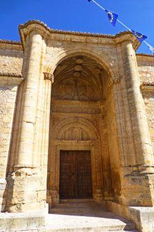 Portada de la Iglesia de Santa Trinidad