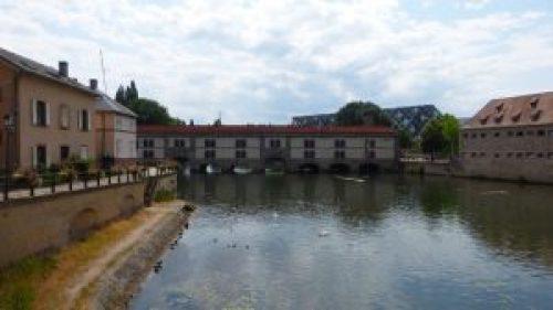 Presa Vauban o Gran Esclusa de Estrasburgo