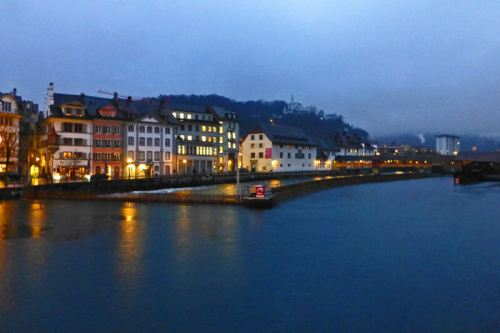Puente de los Molinos tras la presa de Lucerna