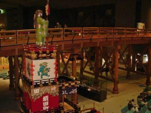 Réplica del puente Nihombashi en el Museo Edo-Tokyo