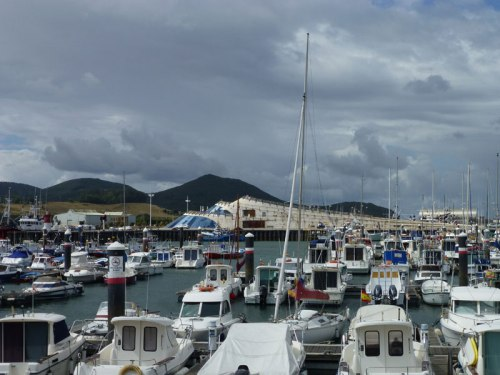 Puerto de Santoña, zona de embarcaciones de recreo