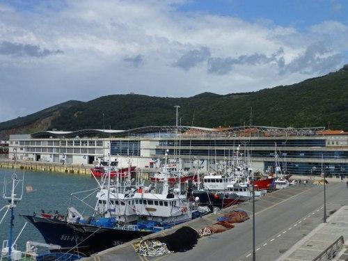 Puerto de Santoña, zona de embarcaciones pesqueras