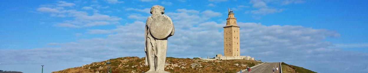 Guía de turismo de La Coruña, guía con todo lo que hay que ver. hacer y visitar en La Coruña