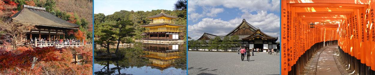 Guía turística con toda la información necesaria para visitar Kioto