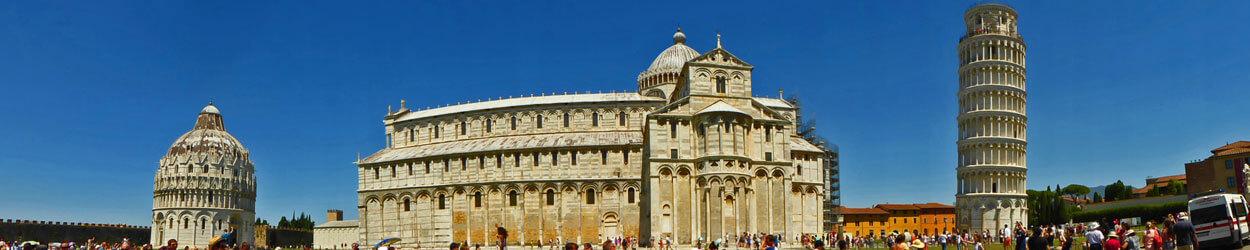 Guía turística para viajar a Pisa