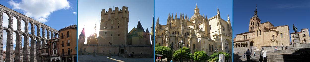 Guía turística con toda la información necesaria para visitar Segovia