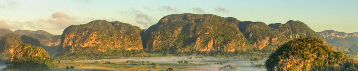 Guía de turismo con información y fotos para visitar el Parque Nacional Valle de Viñales en Cuba