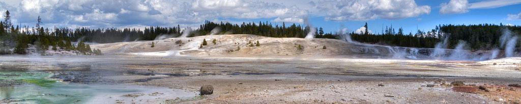 Guía de turismo con información y fotos para visitar el Parque Nacional de Yellowstone