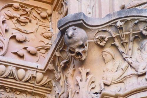 Rana de la Universidad de Salamanca, un símbolo de la ciudad