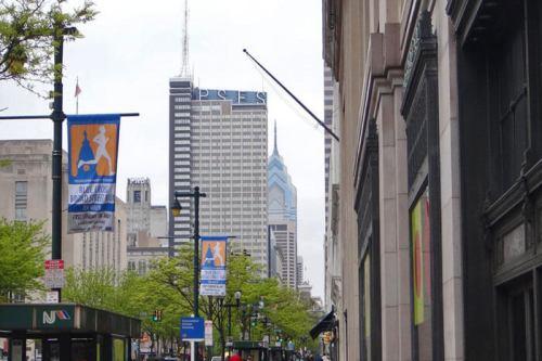Rascacielos de Filadelfia, una de las ciudades con más historia de Estados Unidos