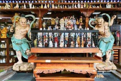 Tienda de regalos y souvenirs típica de Colombo