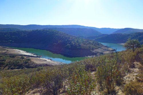 Río Tíetar a su paso por el Parque Nacional de Monfragüe