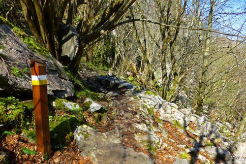 Sendero de Pequeño Recorrido en el Parque Natural Collados del Asón