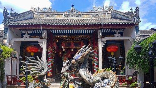 Sala de asambleas cantonesa, la más famosa de las salas de asambleas de Hoi An