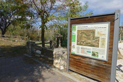 Senda de los Dos Ríos en el Parque Natural de las Hoces del Río Duratón