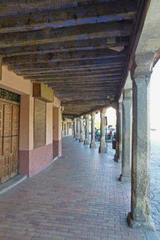 Soportales de la Plaza Mayor de Turégano
