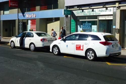 Taxi de La Coruña, uno de los medios de transporte para moverse por la ciudad