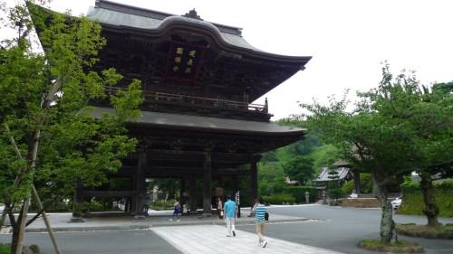 Templo Kencho-ji en Kita-Kamakura