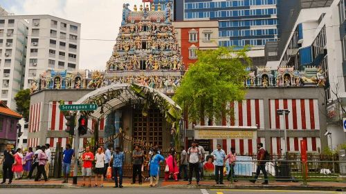 Sri Veeramakaliamman Temple en Little India