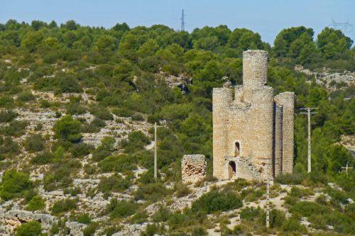 Torre de Alarconcillos, la más singular de las torres de Alarcón