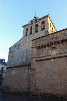 Torre campanario de la Catedral de Jaca