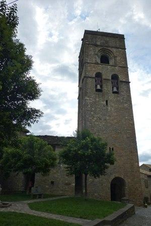 Torre de la Iglesia de Santa María de Aínsa