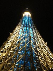 Tokyo Skytree de noche
