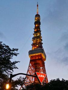 Tokyo Tower al atardecer
