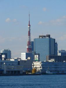Tokyo Tower vista desde Odaiba