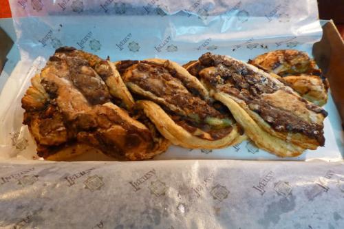 Trenza mudéjar, uno de los dulces típicos de Teruel