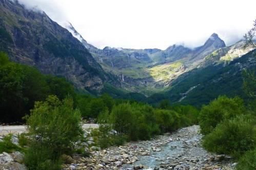 Valle de Pineta en el Parque Nacional de Ordesa y Monte Perdido