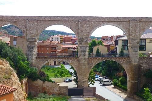 Acueducto de los Arcos en Teruel, una joya de la ingeniería civil renacentista