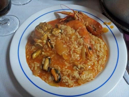 Arroz caldoso con marisco, qué comer en Lisboa, gastronomía tradicional de Lisboa