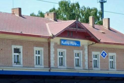 Estación de trenes de Kutná Hora, cómo llegar desde Praga