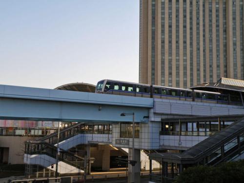 Monorraíl Yurikamome, medio de transporte automatizado para llegar a Odaiba