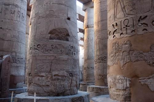 Sala Hipóstila del Templo de Lúxor
