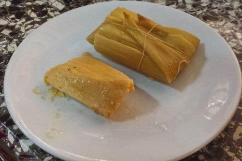 Tamales cubanos, uno de los muchos platos típicos de la gastronomía de Cuba, qué comer en Cuba