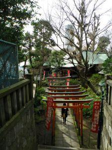 Puertas torii del Templo Gojo-Tenjin