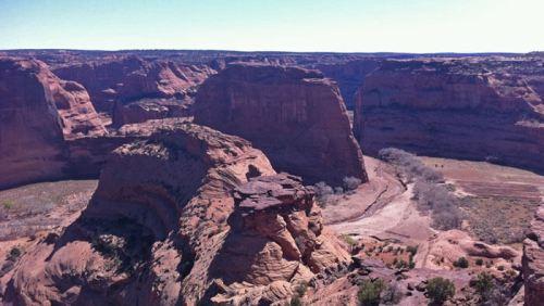 Cañón de Chelly, uno de los espacios naturales más visitados de Arizona