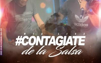 CONTAGIATE DE LA SALSA MIX VOL 1 DJ TOMMY TEAM X DJ RIGO