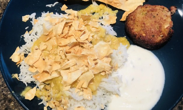 Quick Pakistani Food: Rice and Lentils in 20 minutes